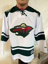 Reebok Premier NHL Jersey Minnesota Wild Team White sz M