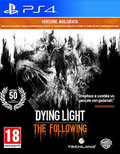 Dying Light Enhanced Edition The Following PS4 Playstation 4 IT IMPORT