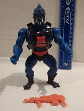 He-Man Masters / Universe WEBSTOR Backpack Armor & Weapon Firm Legs Stands Holds