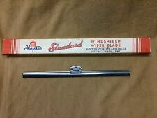 "1930's,1940's NORS 8 1/4"" wiper blade, dual mount, fits most early wiper arms"