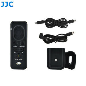 JJC Wired Remote Control fr Sony HDR-CX455 HDR-CX440 FDR-AX33 FDR-AX53 HDR-CX220