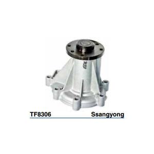 Tru-Flow Water Pump (OEM Korea) TF8306 fits SsangYong Rexton 2.7 D 4x4, 2.7 Xdi