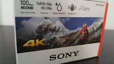 SONY FDR-X1000V 4K Action Camcorder - White - Brand New Unopened