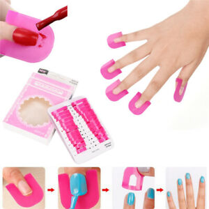 26pcs Pink Nail Polish Spill Proof Manicure Protector