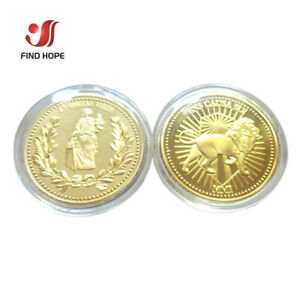 Fit For Hotel Continental And Adjudicator Gold Coin Replica Prop Capsule