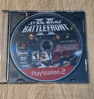 Star Wars: Battlefront II PlayStation 2 PS2 Greatest Hits Video Game DISC ONLY