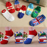 Men Fashion New Ankle Socks Low Cut Crew Casual Sport Color Cotton Socks CA