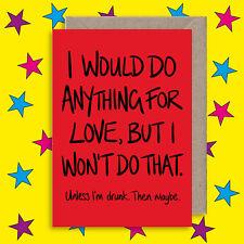 Rude Anniversary Card - Funny Card - Alternative Friendship Birthday Card