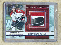 12-13 ITG H&P Heroes Prospects Game-Used Patch JEAN-SEBASTIEN DEA Silver  /10