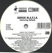 Junior M.A.F.I.A. Featuring Aaliyah ‎– I Need You Tonight Big Beat ‎– 0-95694