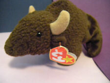 "Ty Beanie Baby Roam 1998 Buffalo 8"" Stuffed Plush"