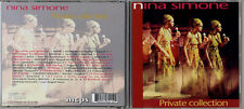 """Nina Simone """"Private Collection"""" Rare Out-Of-Print Live Album In CD Format"""