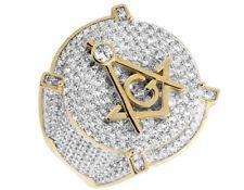 Diamant Echtschmuck aus Gelbgold für Herren