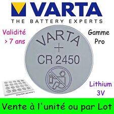 VARTA CR2450 Lithium Pile Bouton 3V