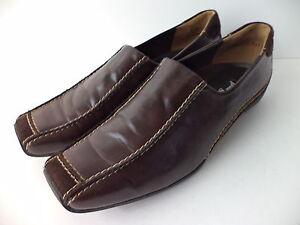 Paul Green Munchen' Lucy ' Marrón Liso & de Ante Zapatos Mocasines Eu 5 US 7.5M