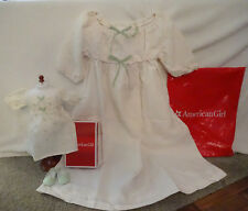 AMERICAN GIRL MARIE-GRACE RETIRED NIGHTGOWN for GIRL & DOLL -(SIZE XS - 6) - NIP