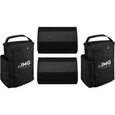 IMG Stage Line FLAT-M100 2er Set + Bags   Neu