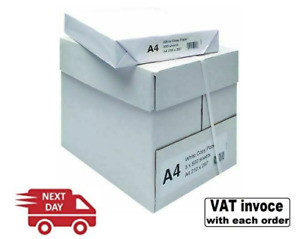 A4 80GSM WHITE PLAIN PAPER CHOOSE 1 2 3 4 5 REAMS OF 500 SHEETS - FREE NEXT DAY