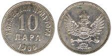 10 PARA 1906 NICHOLAS I MONTENEGRO #3161A