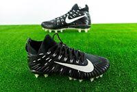 New Nike Alpha Menace Elite (871519-001) Men's Football Black/White Cleats Pro