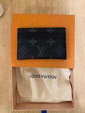 Louis Vuitton Portes Cartes Card Holder in Eclipse