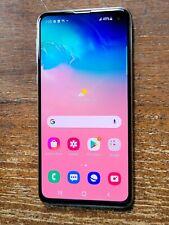 Samsung Galaxy S10e SM-G970U1 (Factory Unlocked) Prism White 128GB Smartphone