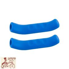 MILES WIDE STICKY FINGERS 2.0 BLUE BRAKE LEVER GRIPS--ONE PAIR