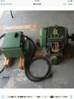 Baldor Motor 10HP 1750RP with a switch box