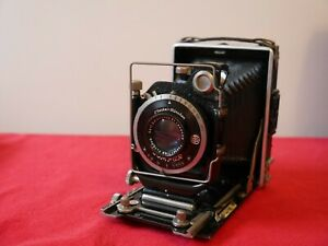 Zeiss Ikon folding camera tessar lens 6x9