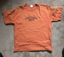 Vintage Orange Penn State Univ Summer Music Tee Shirt Large