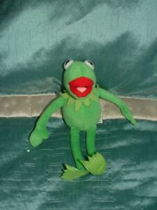 """THE MUPPETS SMALL 9"""" KERMIT PLUSH  SOFT TOY BY POSH PAWS"""