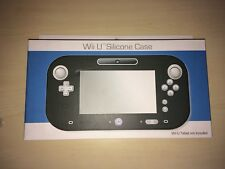 PROTECTION SILICONE TOTAL  - NOIR -  POUR NINTENDO GAME PAD Wii U --- NEUF