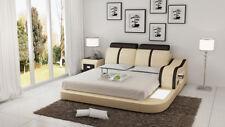 Bett Design Luxus Luxus Betten Leder Modernes Schlafzimmer 140/160/180 LB8811