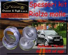 Kit Spessori Molle Rialzo SPACER SPRING Daihatsu Terios 2005> 3 CM Dietro Avanti