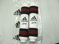 Youth Size Lrg Adidas Wtf Taekwondo Forearm Protector Arm Guard White Red Black