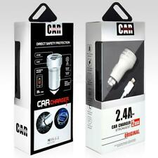 2IN1 Dual USB Rapid Auto Vehicle Car Charger Adaptive Type C USB for Tablet IPad