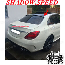 2015~18 Painted A Rear Roof Spoiler For Mercedes Benz C Class W205 C300 Sedan