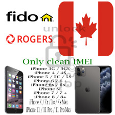 Fido / Rogers Canada Factory Unlock Service