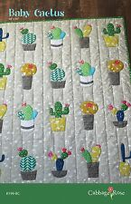 BABY CACTUS QUILT QUILTING PATTERN, from Cabbage Rose, *NEW*
