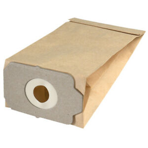 Rowenta RH 635 650 660  5 sacchetti tessuto microfibra per aspirapolvere R105MF