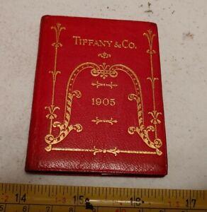 Vintage 1905 Tiffany & Co Pocket Calendar New York Paris Advertising Booklet