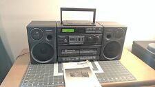 PANASONIC RX-DT680,  MASH sound system with Original Manual Boom Box S-XBS