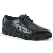 Demonia CREEPER-712 Men's Pointed Toe Oxford Rockabilly Punk Monk Platform Shoes
