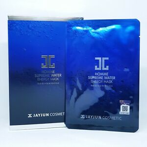 JAYJUN Homme Supreme Water Energy Mask 27ml x 10ea For Men Moisturizing K-Beauty