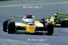 Jean-Pierre JABOUILLE RENAULT RS10 Gran Premio di Spagna 1979 fotografia 2