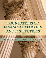 USED (GD) Foundations of Financial Markets and Institutions (4th Edition)