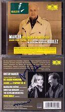 KOZENA & GERHAHER Signed MAHLER Des Knaben Wunderhorn Pierre BOULEZ Magdalena CD