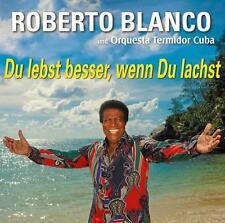 Roberto Blanco & Orquesta Termidor  -  Du lebst besser, wenn Du lachst   CD  NEU