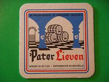 BELGIAN Beer Coaster: Brouwerij Van Den Bossche Pater Lieven ~ Sint-Lievens-Esse