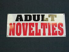 ADULT NOVELTIES Banner Sign 4 Video Heels Lingerie Store Club Dance Ware Sex